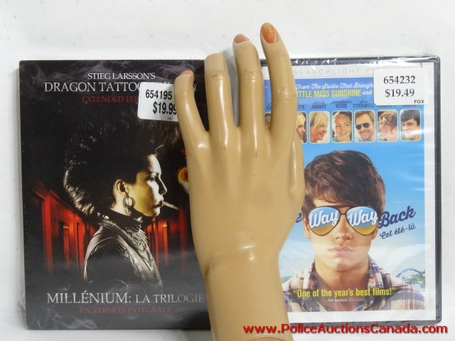 Police auctions canada dragon tattoo trilogy dvds the for How to tattoo dvd