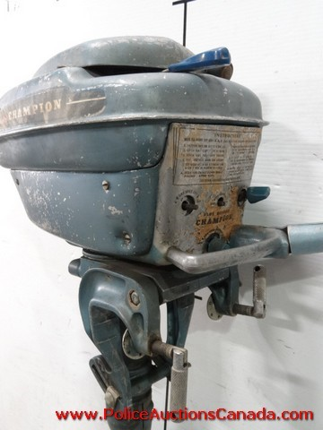 Police Auctions Canada 1950 Vintage Champion Super